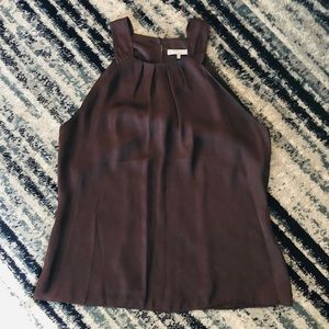 Violet & Claire Chocolate brown tank